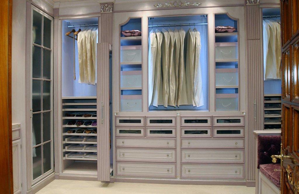 Гардеробные комнаты маленьких размеров: идеи дизайна, как сд.